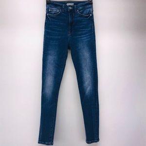 ZARA High Waisted Skinny Jeans 2